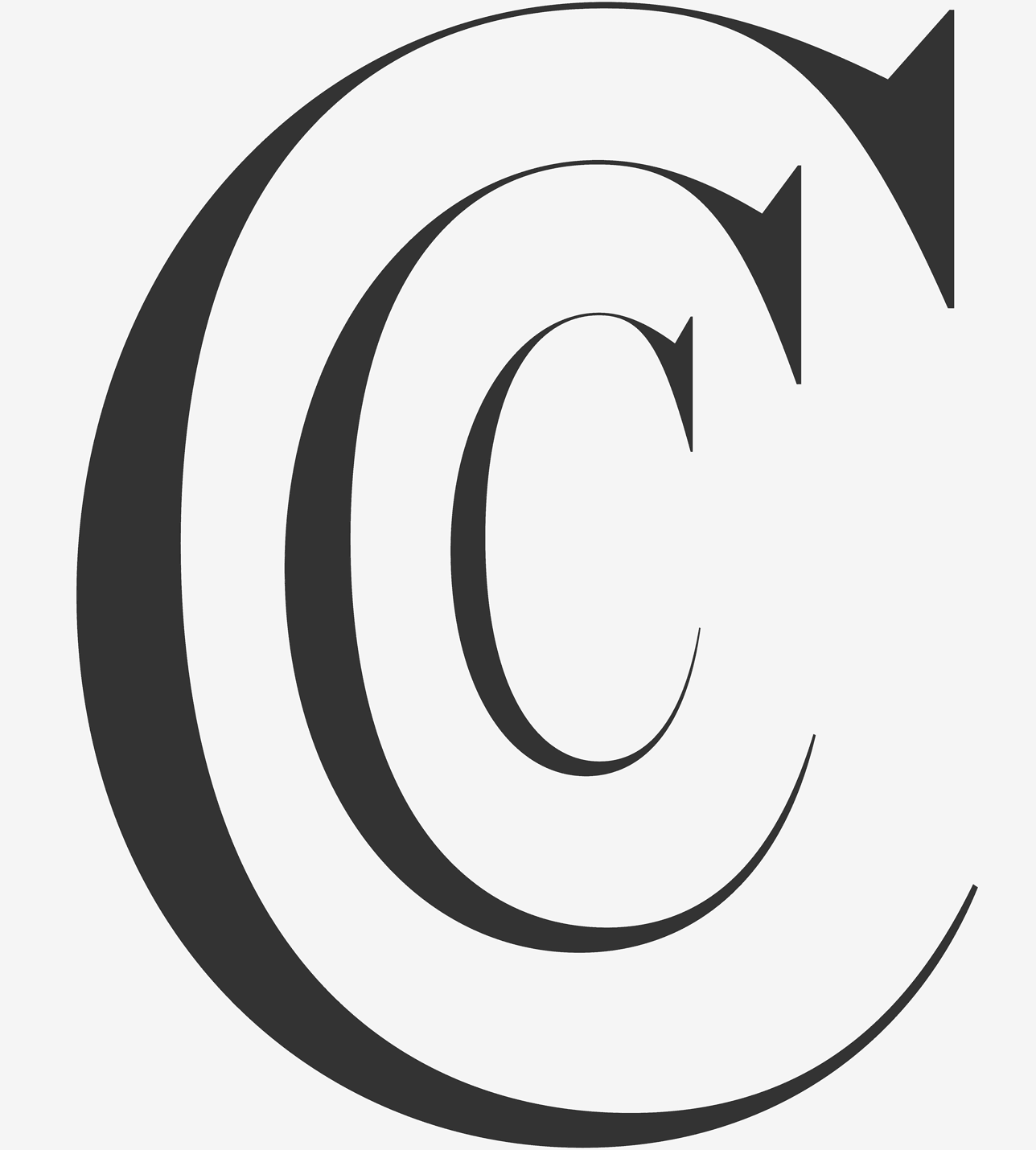 Chronicle Hairline Regular, Condensed and Compressed