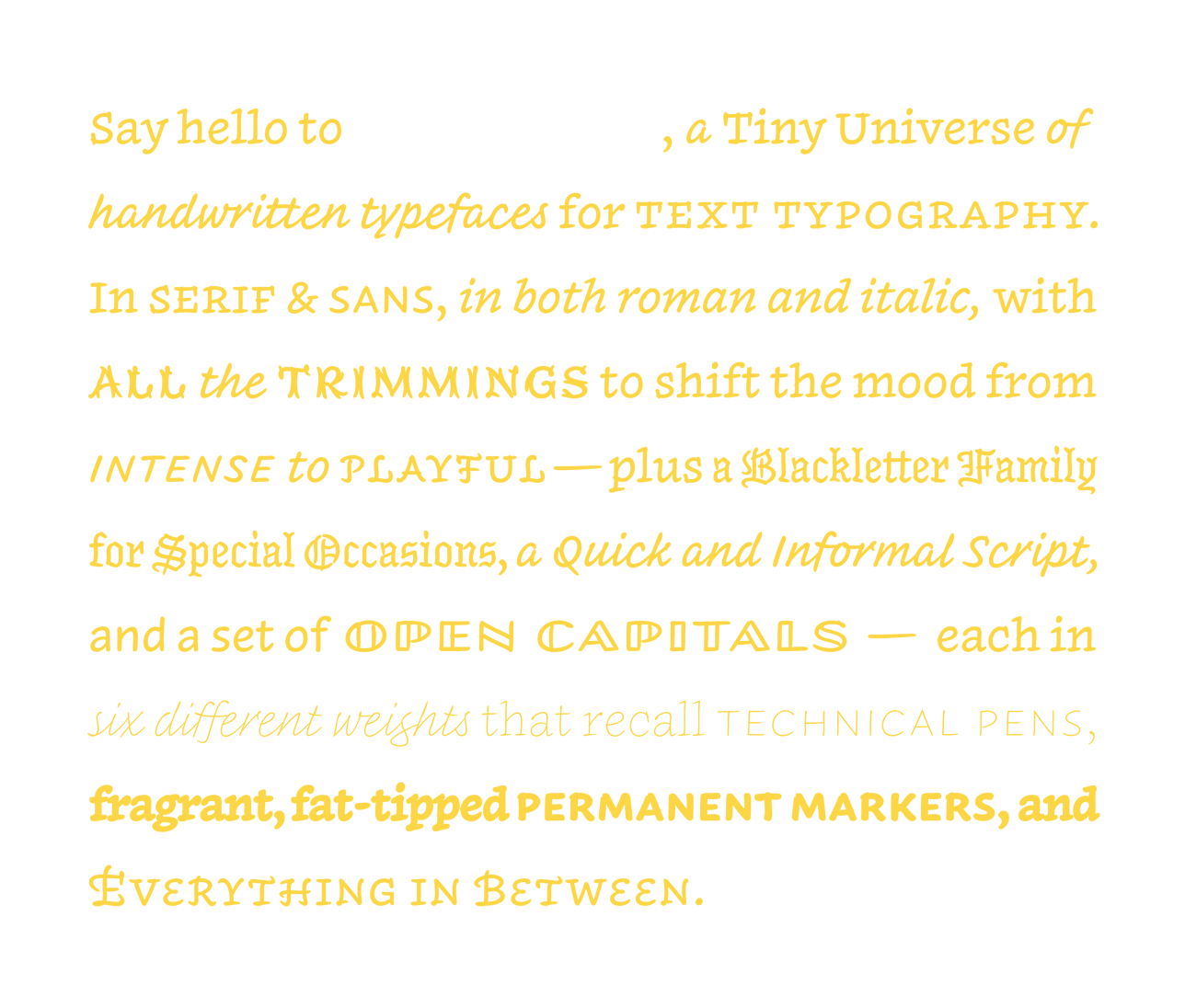 Meet INKWELL, the new font family from H&Co